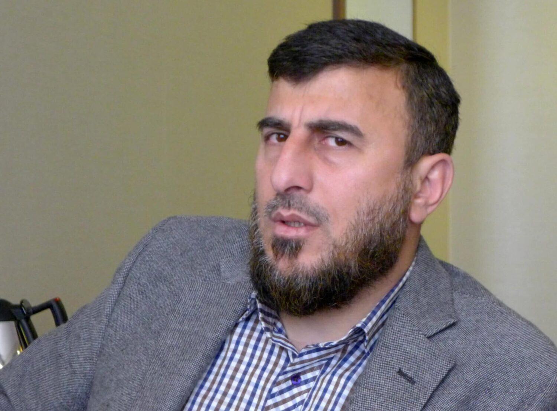 زهران علوش, قائد جيش الإسلام