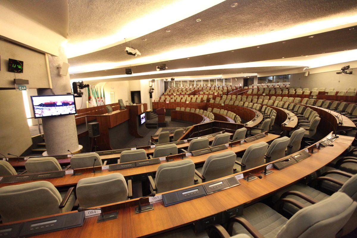 algeria governance parliament