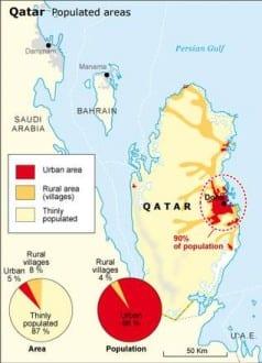 areas of habitation Qatar populated areas 400 05c75b01de