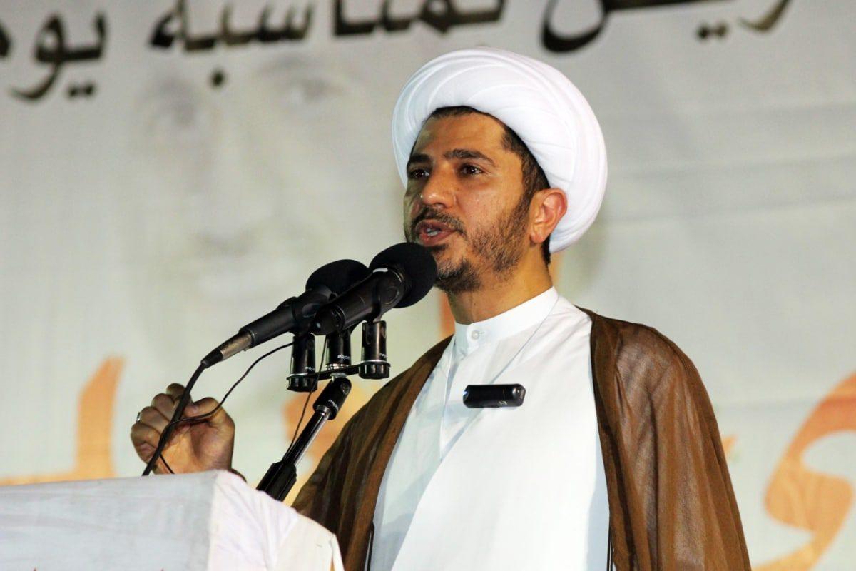 الشيخ علي سلمان:n