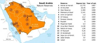 biodiversity and natural environment sa wildlife reserves map 01