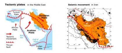 earthquakes iran tectonicworldmap001 720