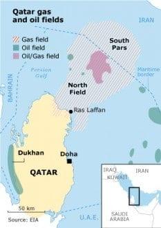 economic sectors qatar 4.1 gasmap 01