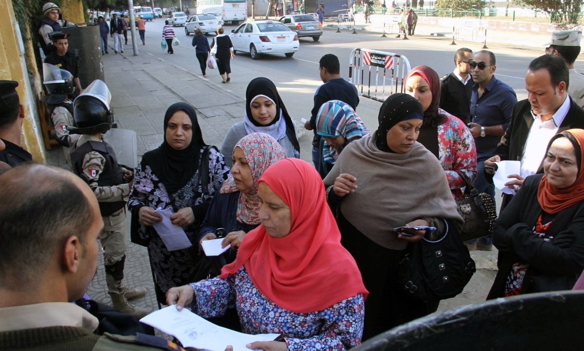 A very low turnout in Egypt's parliamentary elections in December 2015 seems to indicate a growing frustration among the Egyptian population toward their political leadership