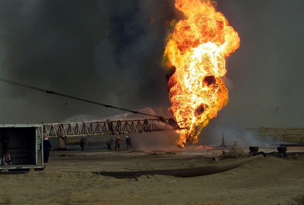 Iraq- Rumaila Oilfield, Iraq