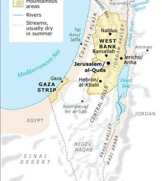 Geography of Palestine