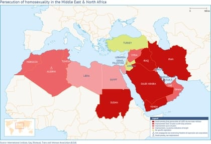 Homosexuality in the Middle East and North Africa: A Grim Situation with Rays of Hope