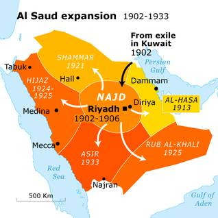 ibn saud and the foundation of the kingdom sa map al saud 600 04 a0d2924ec1