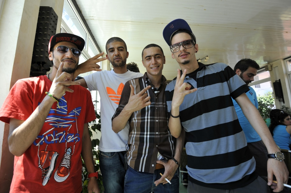 Tunisia-society-rappers in Tunisia