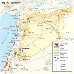 infrastructure syria map5 economy 37d69b38ca