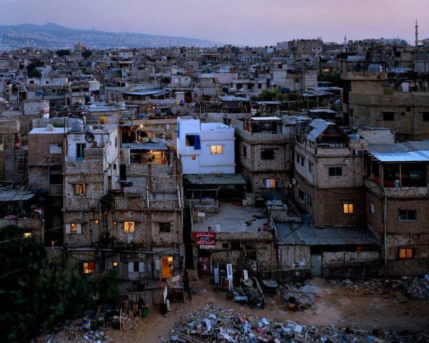 Palestinian refugee camp Bourj al-Barajneh