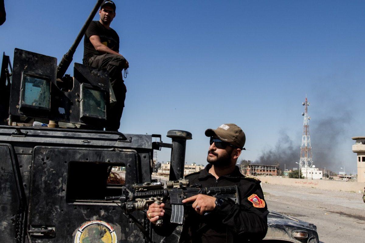 Shia militia in Tikrit