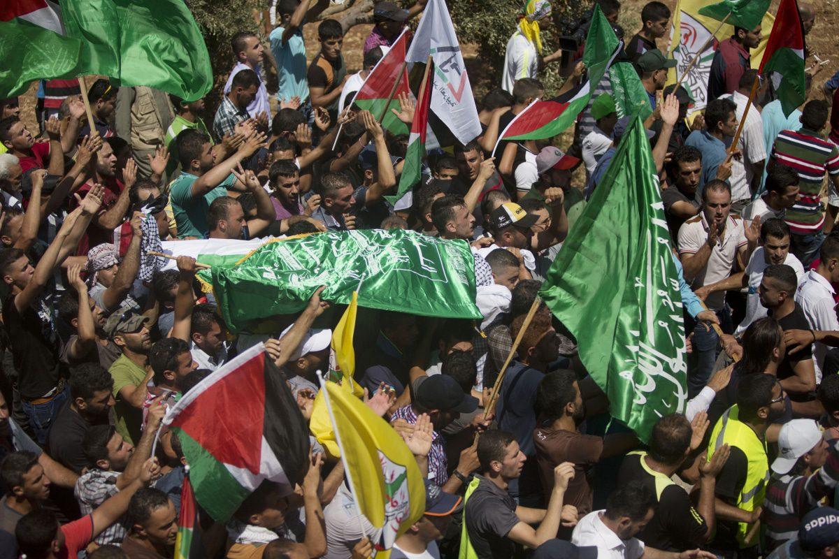 funeral of Saed Dawabsheh