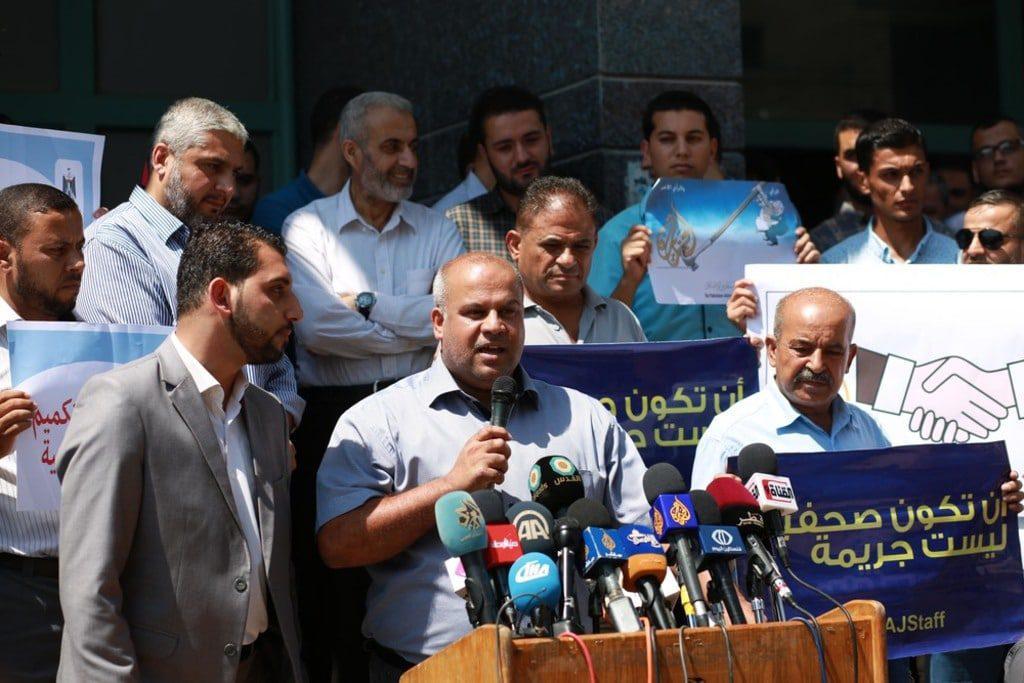 israel-media-banning al-jazeera