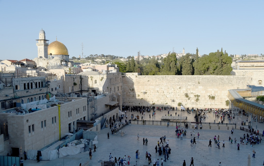 UNESCO Resolution on Jerusalem Israel Dome of the Rock and the Western Wall