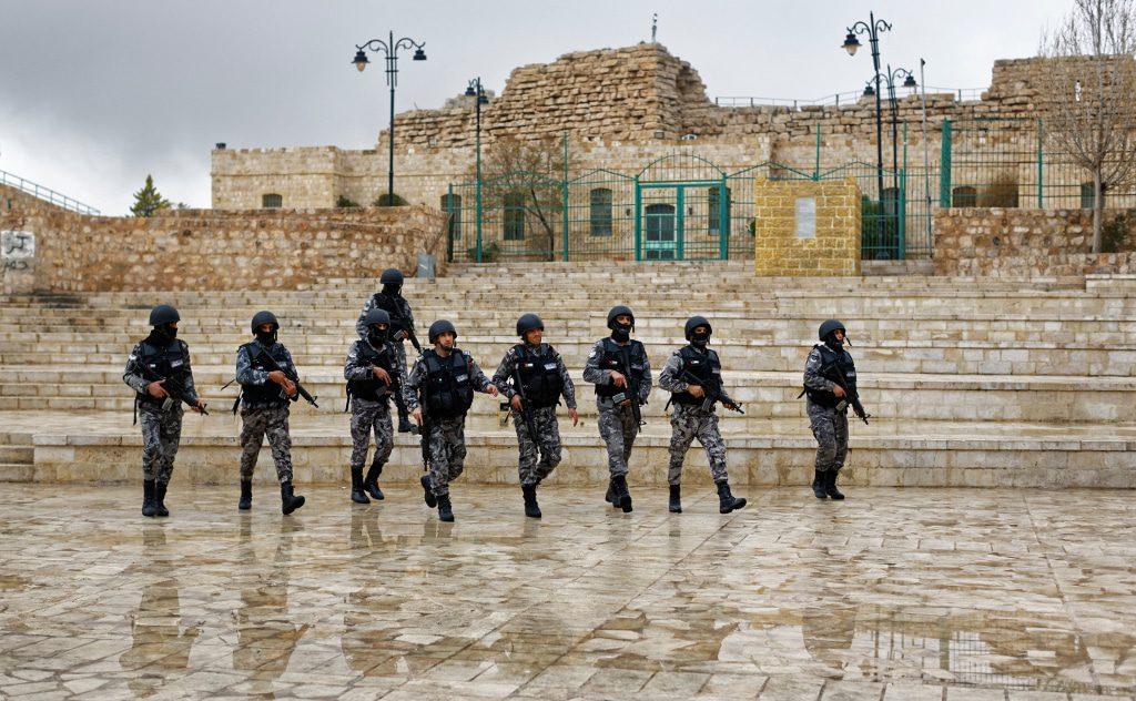 security forces jordan Karak