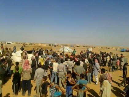 Syrian Refugees Stranded on Closed Jordanian Border
