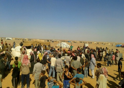 Syrian Refugees Stranded on Closed Jordanian Border