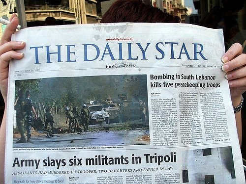 Lebanon media the daily star newspaper