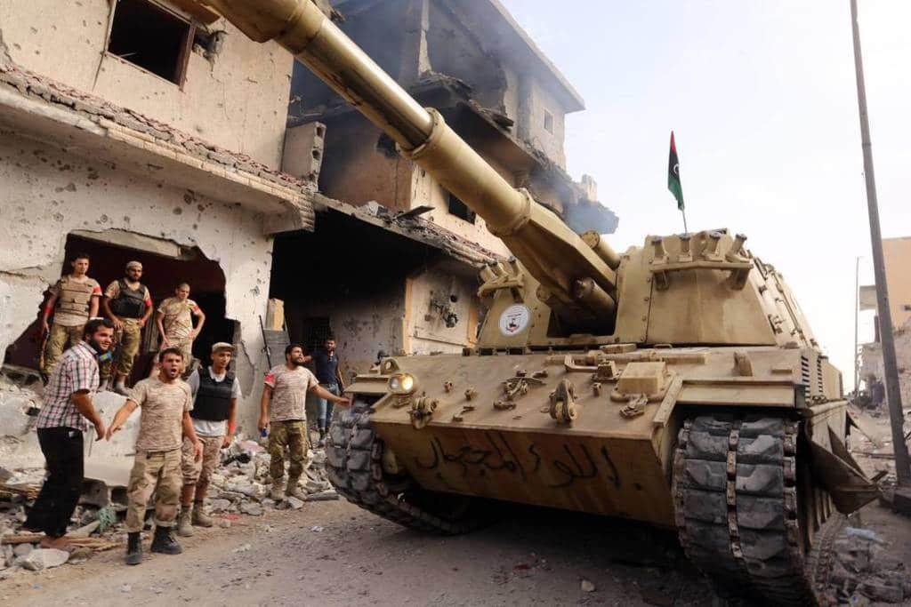 Islamic State in Sirte, Libya