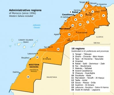 local government morocco regions3 map 720 01