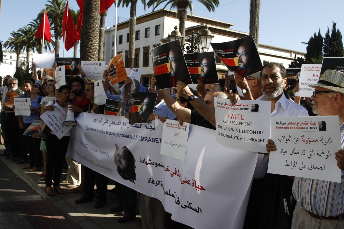 Freedom of the press in Morocco