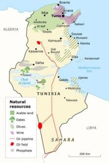 natural resources tunisia natural resources map001 400 1cb2006d9f