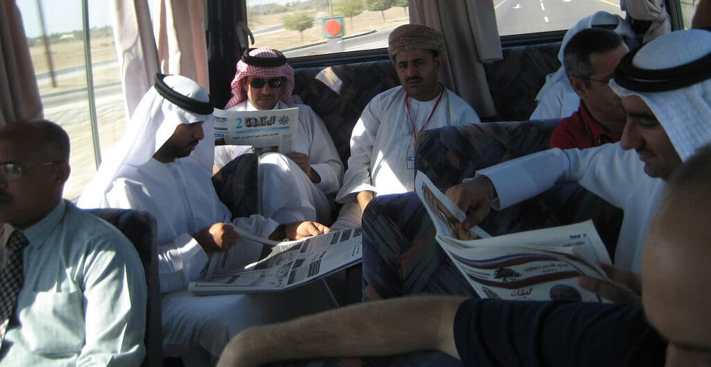 وسائل الإعلام في عُمان الصحيفة