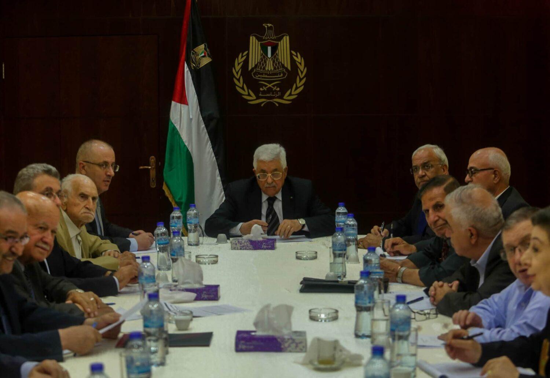 Palestinian President Mahmoud Abbas under Pressure