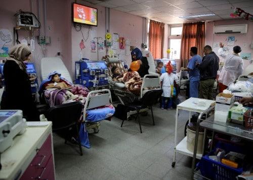 الواقع الصحي في فلسطين