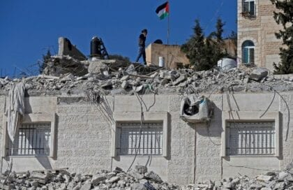 Rising Demolitions in the Occupied Palestinian Territories