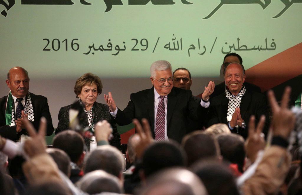 مؤتمر فتح خطاب محمود عباس