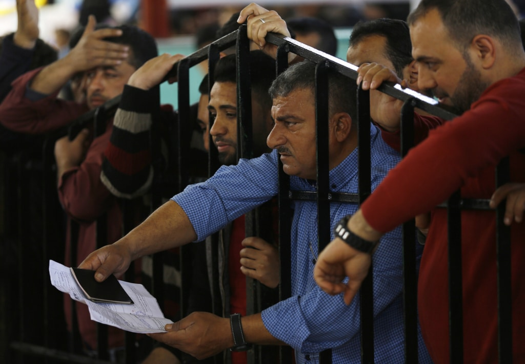 Palestine- Rafah crossing