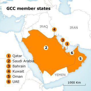 role of the gcc uae gcc map 35 1