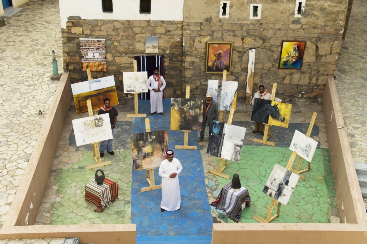 Art in Saudi Arabia begins to blossom