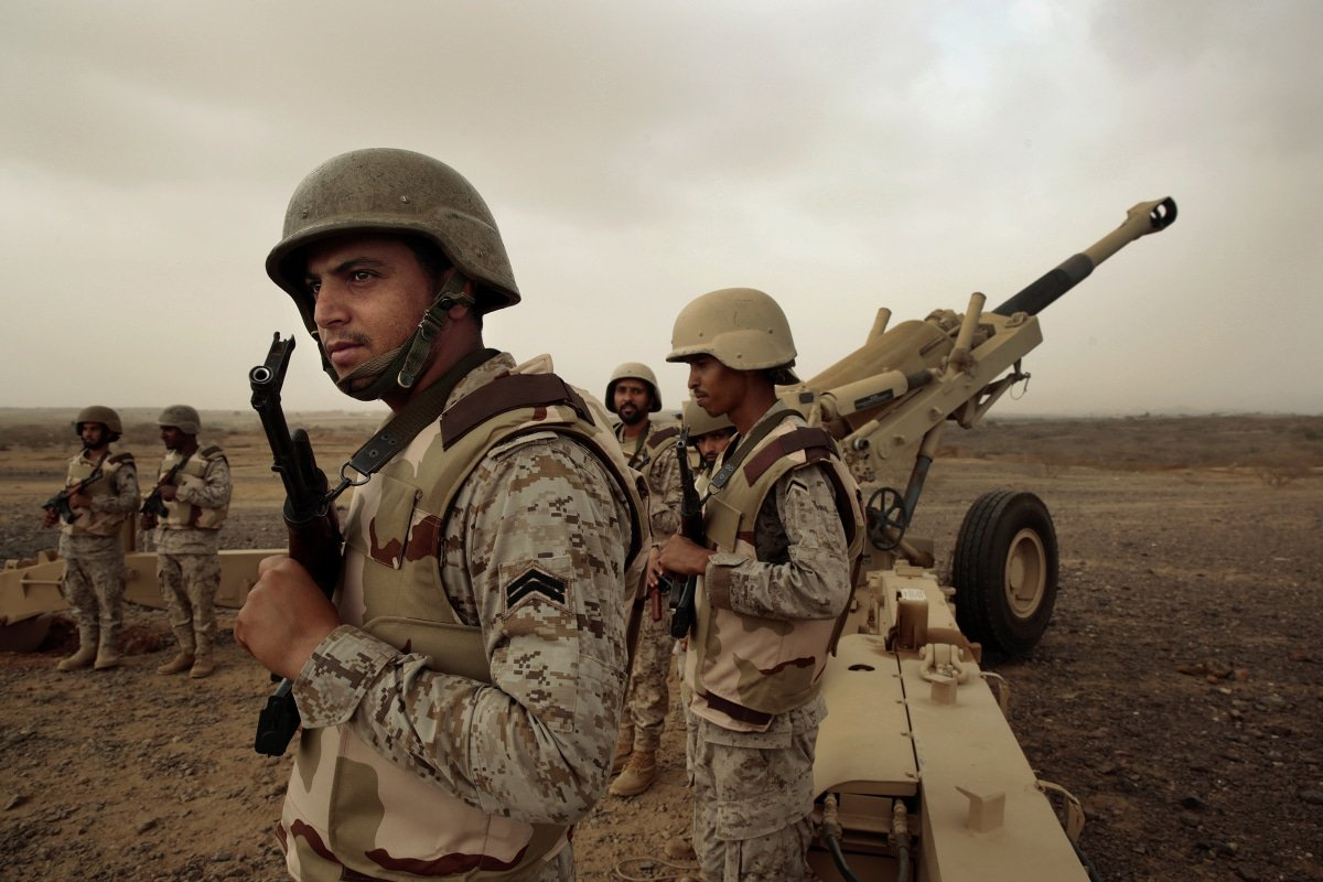Saudi's military power in the war in Yemen