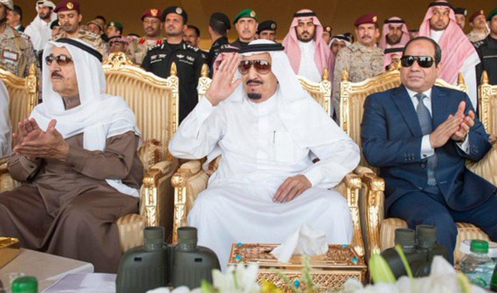 التوترات بين الحليفين السابقين الجابر الصباح السيسي سلمان