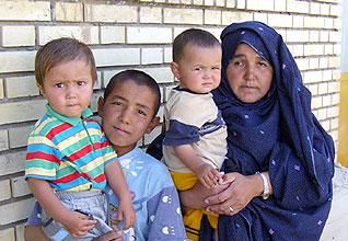 population iran - Afghan refugees in Torbat-e Jam Refugee camp, in East Iran, near the Afghanistan border