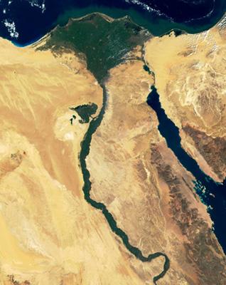 Economy Egypt - Nile River delta