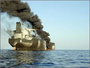 French tanker Limburg, bombed in 2002