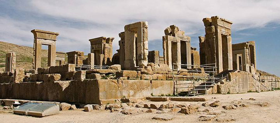 Ancient Persepolis, ceremonial capital of the Achaemenid Empire (ca. 550–330 BCE)
