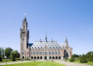 International Court of Justice in The Hague, The Netherlands