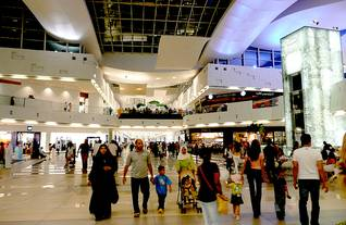 population kuwait - shopping-mall