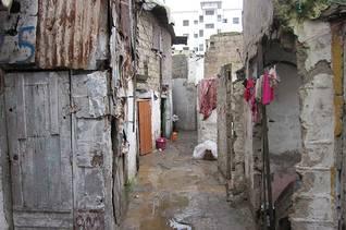 مدينة صفيح في الدار البيضاء / اضغط للتكبير