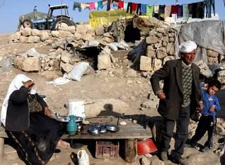 فلسطين الصمود البدو