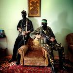 Two Hamas fighters in Gaza Photo HH