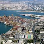 Economy Turkey - Container terminal of Izmir