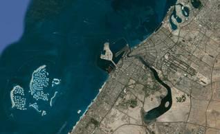 Geography UAE - Dubai Creek