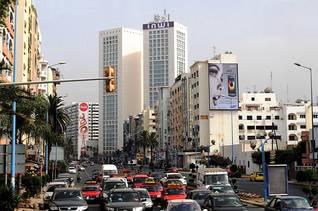 المركز التجاري في الدار البيضاء