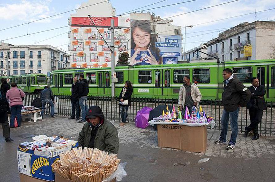 Economy Tunisia - Street Vendors